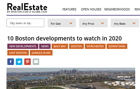 3368 Washington Street mentioned as one of 10 Boston developments to watch in 2020
