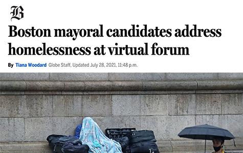 Boston Mayoral Candidates Address Homelessness