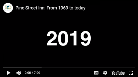 Pine Street Inn video: from 1969 to today