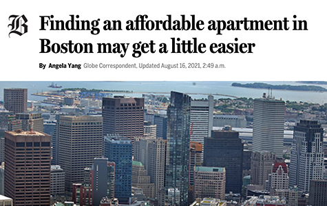 Finding an affordable apartment may get a little easier