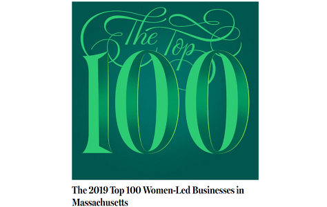 Lyndia Downie & Pine Street Recognized as one of Top 100 Women-Led Businesses in MA