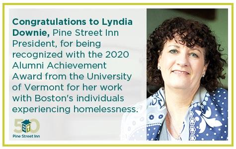 Lyndia Downie recognized with Alumni Achievement Award