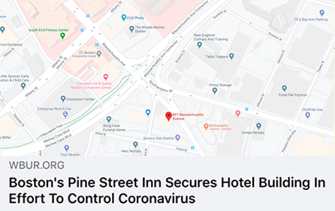 Pine Street Secures Hotel In Effort To Control Coronavirus