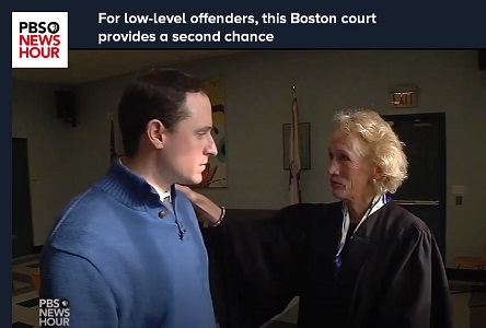 PBS News Hour: For low-level offenders, this Boston court provides a second chance.