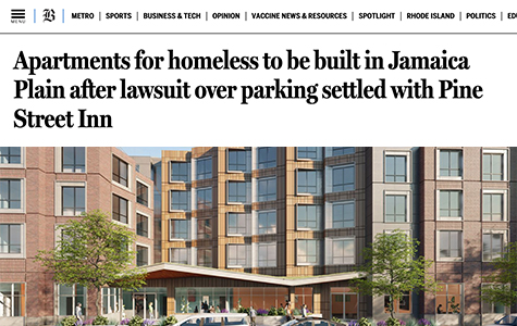 Boston Globe: Apartments for homeless to be built in Jamaica Plain