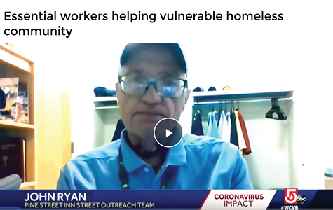 WCVB: Essential Workers Helping Vulnerable Community