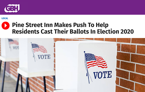 GBH: Helping homeless individuals cast their ballots